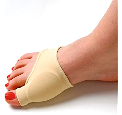 Pixnor Durable Gel elástico forrado Protector juanete juanete manga dedo separador Corrector Pad: Amazon.es: Deportes y aire libre