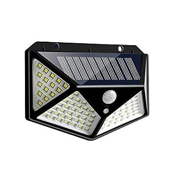 Details about  /100 LED Solar Light Outdoor Solar Lamp Powered Sunlight Waterproof Motion Sensor