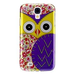 LZX Elegant Owl Pattern Hard Case for Samsung Galaxy S4 I9500