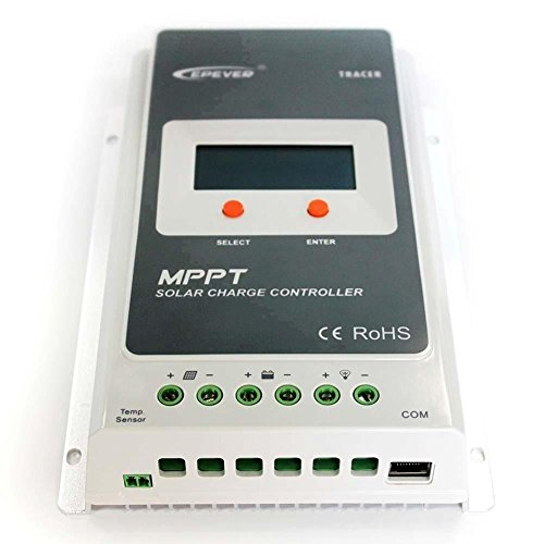 EPEVER MPPT Solar Charge Controller 30A 12V24V Tracer3210A 100VDC input for solar system by EPever