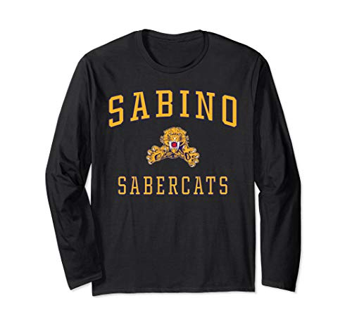Sabino High School Sabercats Long Sleeve T-Shirt C1, used for sale  Delivered anywhere in USA