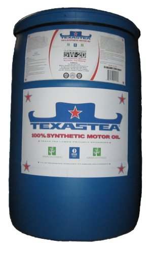 Texas tea motor oil 5w 20 100 synthetic api sn gf 5 for 55 gallon motor oil prices