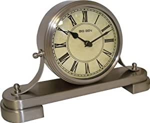 Westclox BB Quartz Vintage Mantle Clock