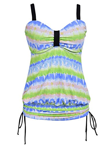 Firpearl Vintage Drawstring Swimsuit Tankinis product image