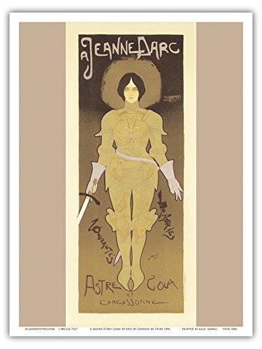 A Jeanne D'Arc (Joan of Arc); Art Nouveau - La Belle Époque-