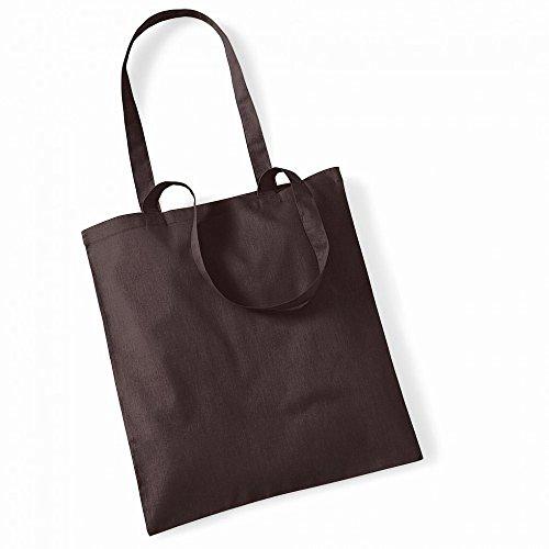 """Westford Mill- Promoción bolsa básica """"Bolsa para la vida""""- capacidad 10 litros multicolor - Chocolat"""