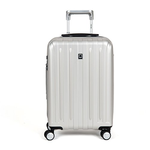 delsey-luggage-helium-titanium-carry-on-exp-spinner-trolley-silver-one-size