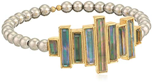 Lucky Brand Deco Statement Cuff Bracelet, Two Tone, One Size
