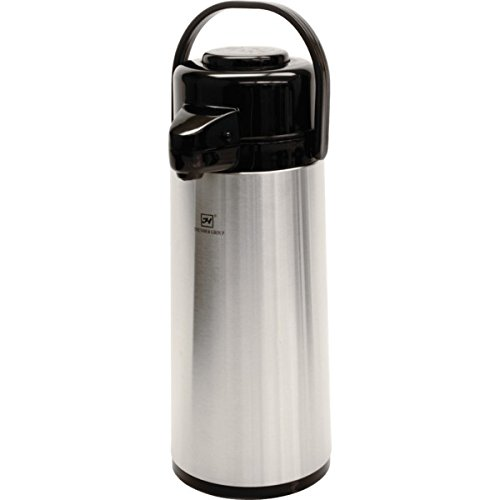 Thundergroup 2.5 Liter Stainless Steel Airpot With Push Button