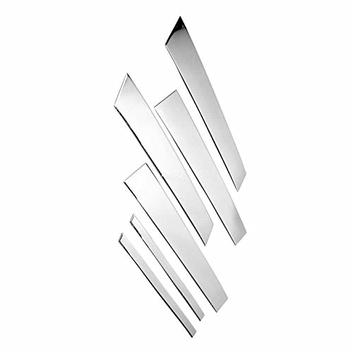 (PAKCEEINC Stainless Steel Pillar Posts Insert Accent Cover for BMW F30 Years of 2012-2018 Gen F30 and F31)