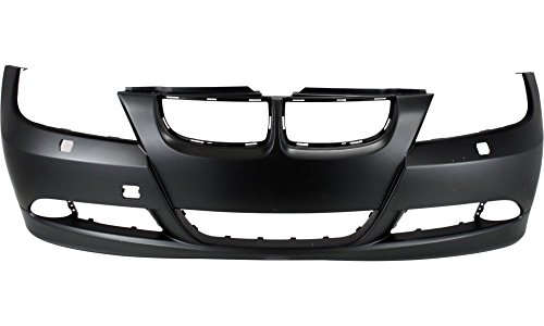 New Evan-Fischer EVA17872018683 Front BUMPER COVER Primed Direct Fit OE REPLACEMENT for 2006-2008 BMWReplaces Partslink BM1000179 Bmw 330i Front Bumper