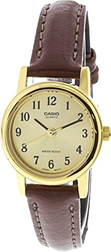 Casio Womens LTP1095Q 9B1 Leather Quartz