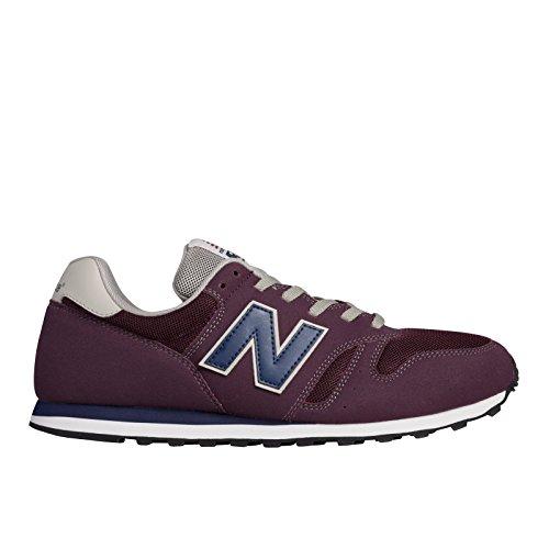Lifestyle New Ac Uomo Sneaker Burgundy red 373 Balance Rosso Basse ESpSq71f