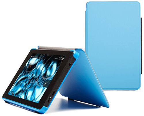 Fire HD 6 Slim Case (2014 model), Blue, Nupro, Slim Fitted Standing Case, Protective Cover (4th Generation: 6