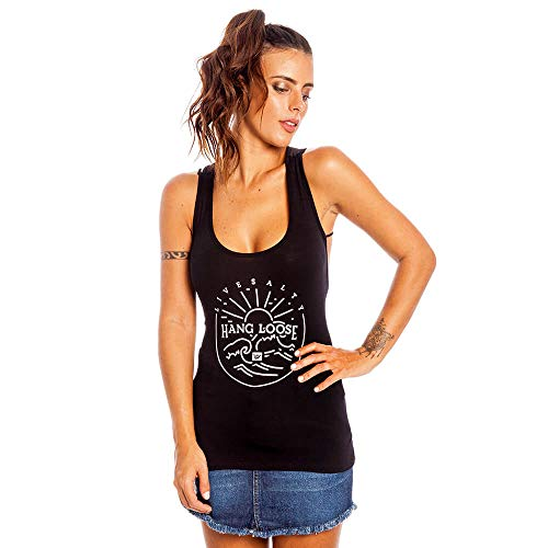Regata Lovely Net Feminino Hang Loose Preto - G