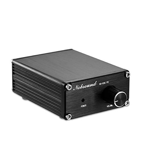 Nobsound 100W Full Frequency Mono Channel Digital Power Amplifier Audio Mini Amp (Mono, Black)
