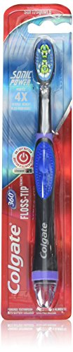 Colgate 360 Floss Tip Sonic Power Toothbrush