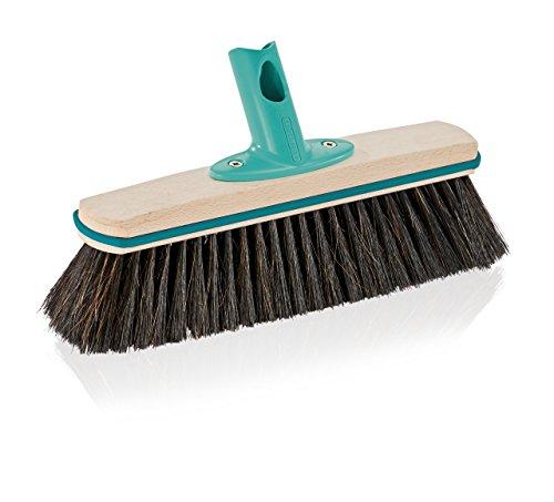 Leifheit Hard Floor Broom Xtra Clean Eco Plus 30 cm, Floor Broom, House Broom, Dustpan Brush, Wood / Mint Green, 45002 by Leifheit (Image #2)