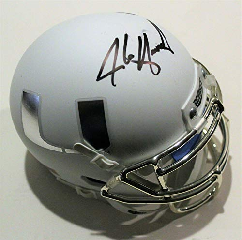 Alonzo Highsmith Signed Miami Hurricanes Mini Football Helmet W/COA 2019 - Autographed College Mini Helmets
