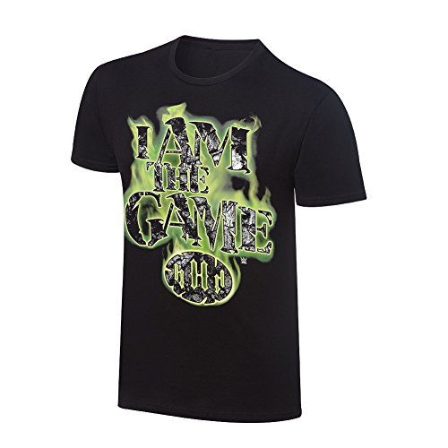 Freeze Triple H I Am The Game WWE Authentic Mens Black T-Shirt-XL