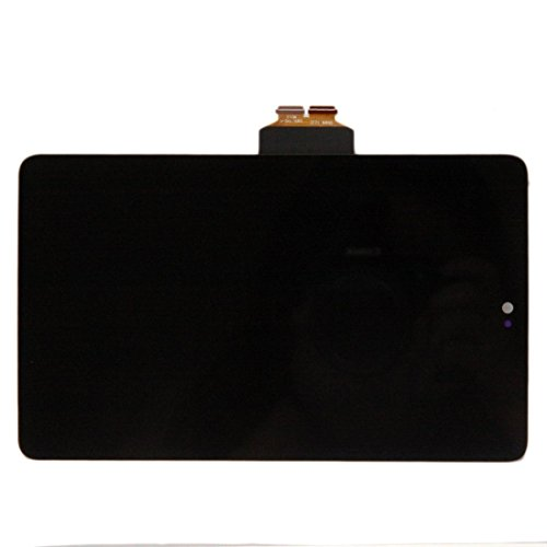 Nexus 7 (1st Gen) LCD Screen Touch Digitizer Front Panel Assembly Replacement with Power Volume Button Flex Cable+tools kit for Asus Google Nexus 7 2012 3G&Wi-Fi Model by FixCracked (Image #1)