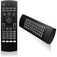 MLIUS Air Mouse MX3 Backlit 2.4G Wireless Keyboard Remote Control IR Learning Fly Mouse Backlight for Android TV Box