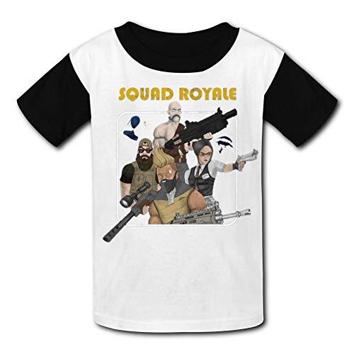 Kim mittelstaedt Kids 3D Print Squad Royale Short Sleeve Tee M ()
