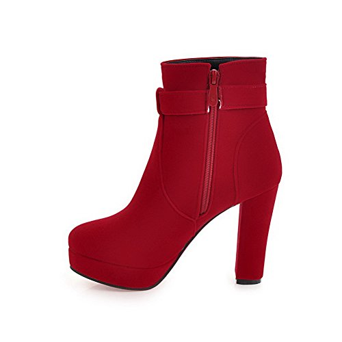 BalaMasaAbl10410 - Con Plateau donna, Rosso (Red), 35