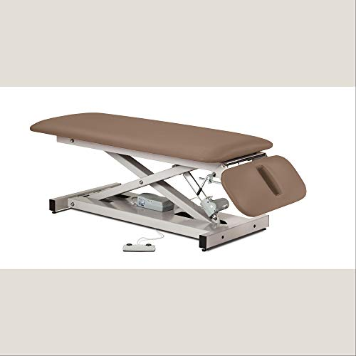 Power Height Treatment Exam Table with Space Saver Drop Section - 27
