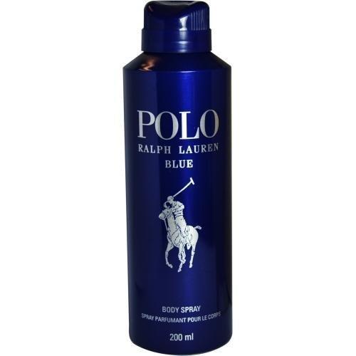 (POLO BLUE BY RALPH LAUREN BODY SPRAY 6.0 OZ FOR MEN)