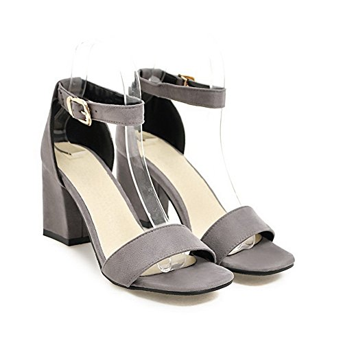 Non Urethane Lining Womens MJS03315 Dress Gray Marking 1TO9 Cold Sandals qEtxOqY