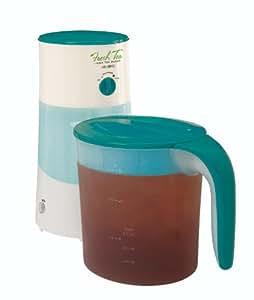Mr. Coffee Fresh Iced Tea Maker 3-Quart, Teal, TM70TS
