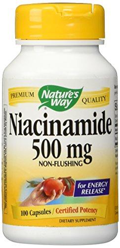 Niacinamide 500mg 100 Capsules
