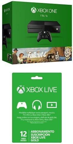 Xbox One - Consola 1 TB + Fallout 4 + Fallout 3 + Suscripción Live ...