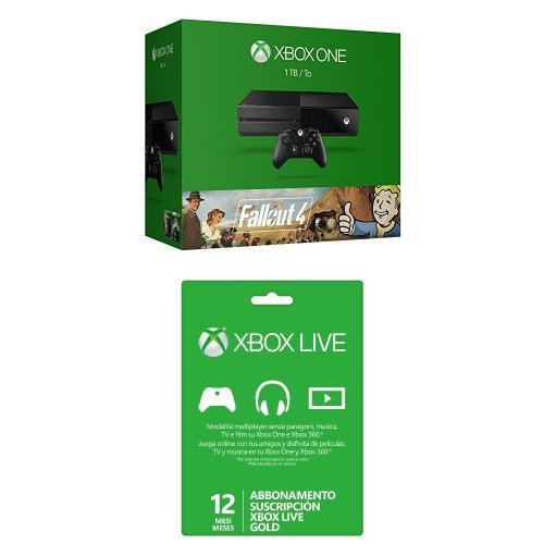 Xbox One - Consola 1 TB + Fallout 4 + Fallout 3 + ...