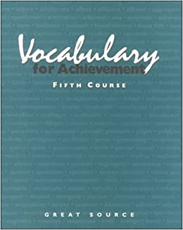 read unlimited books online vocabulary for achievement fourth course answer key book