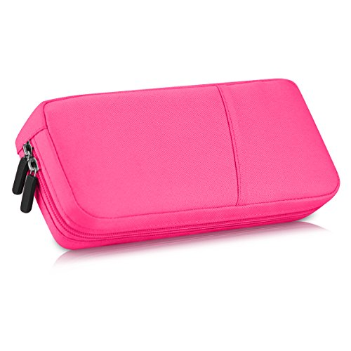 Nbboo Soft Waterproof Travel Case Bag For Nintendo Switch  Pink