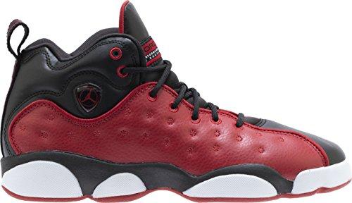 Jordan Kids Jumpman Team II GS Gym RED Gym RED Black White Size 3.5 by Jordan (Image #1)