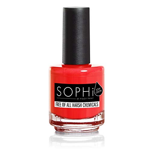 SOPHi Nail Polish, Pop-arazzi, Non Toxic, Safe, Free of All Harsh Chemicals  - 0 5 oz