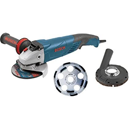 Image of Bosch 18SG-5K 5-Inch 9.5 Amp Concrete Cutting Kit
