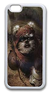 Case Cover For Apple Iphone 4/4S Covers Star Wars Ewok Painting art Custom PC Soft Protector for Case Cover For Apple Iphone 4/4S White