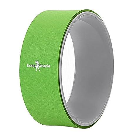 Hoopomania Yoga Wheel (Rueda de Yoga), Soporte Dorsal, Verde ...