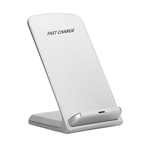 7c7c670a2e6 Cargador inalámbrico QI Cargador de carga multifuncional 10w Micro puerto  USB Teléfono móvil Bracket_White