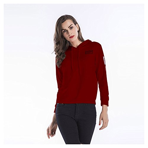 Sweat Capuche Brown Xxl Fashion Pour White Cloth Femme Dayly color Décontracté Size À qC5qrFwf