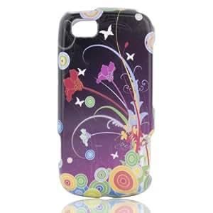 Talon Phone Shell for LG GS505 Sentio - Flower Art