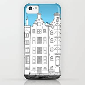 Society6 - Dancing Houses, Amsterdam iPhone & iPod Case by Janko.