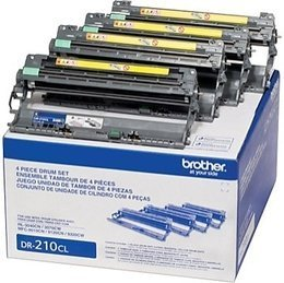 Brother Genuine DR210 Drum unit Set for use with HL-3040cn, HL-3070cw, MFC-9010cn, MFC-9120cn, MFC-9320cw (Brother Mfc9325 Toner)