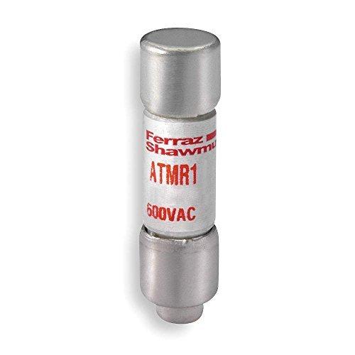 Mersen ATMR Amp-Trap Fast Acting/Class CC Fuse, 600VAC/DC, 200k AC/100kA DC, 1.5 Ampere, 13/32 Diameter x 1-1/2 Length by Mersen