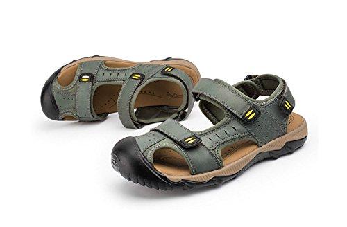 Sandalias Sandalias De Los Hombres Zapatillas Zapatos De Vadeo Exterior Green