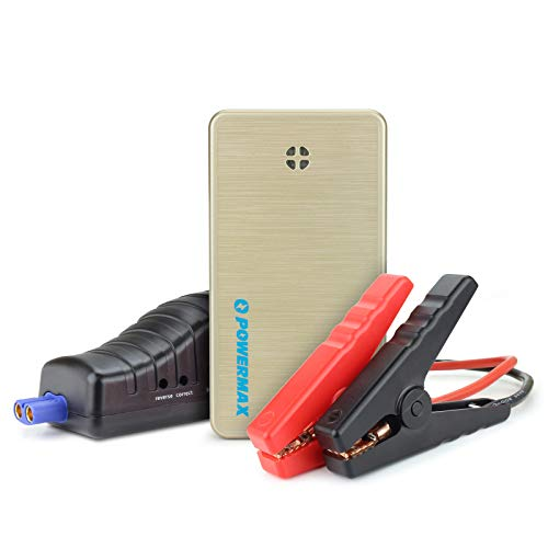 Powermax 300A Peak 6000mAh Portable Car Jump Starter Battery Booster and Phone Charger with Smart USB Charging Port